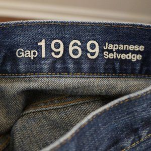 GAP Jeans - 3/$20 GAP Men's Jeans Japanese Selvedge Slim 28x30